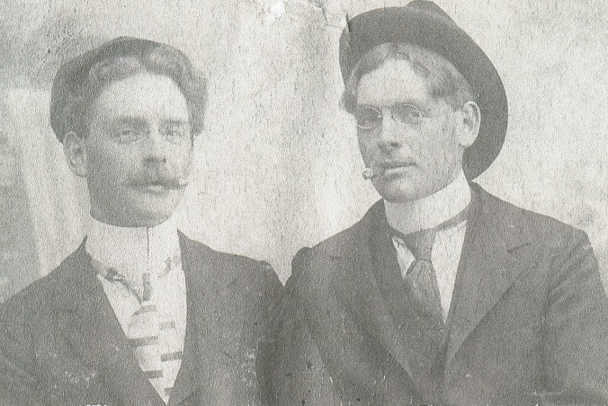 Great-grandfather Foster and twin brother