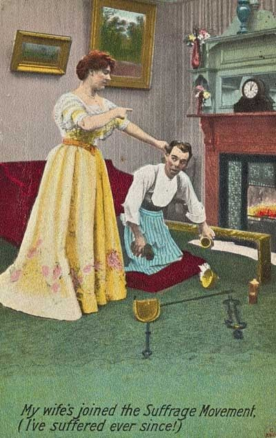 What happens when you flirt with the Irish housemaid!