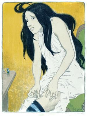 Morphinomaniac by Eugene Grasset (1897)