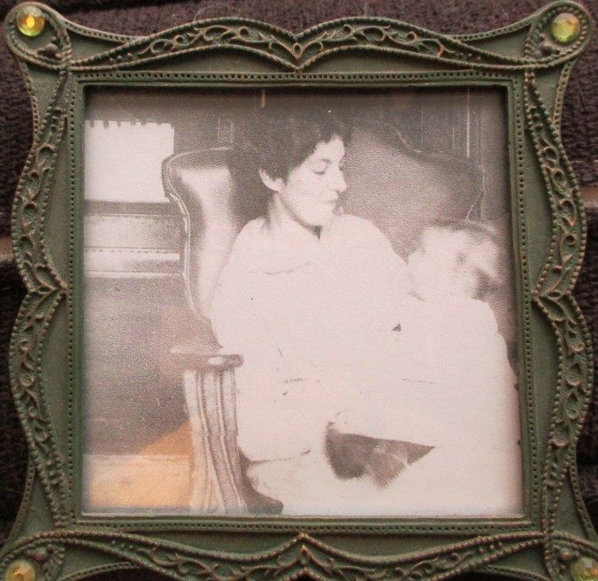 Great-grandmother Flora Foster with Grammy.