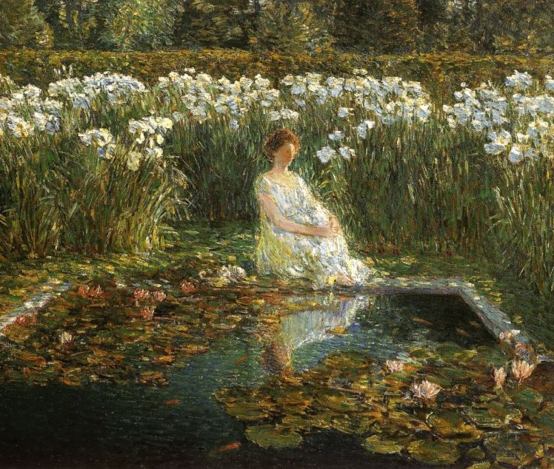 Frederick-Childe-Hassam-xx-Lilies-xx-Private-collection