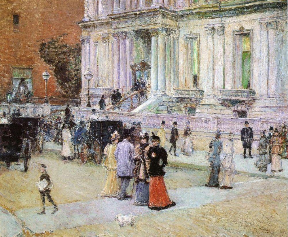 Frederick-Childe-Hassam-xx-The-Manhattan-Club-xx-Santa-Barbara-Museum-of-Art