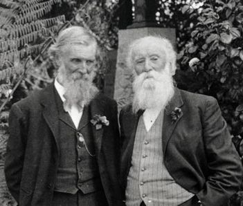 Muir with Burroughs.