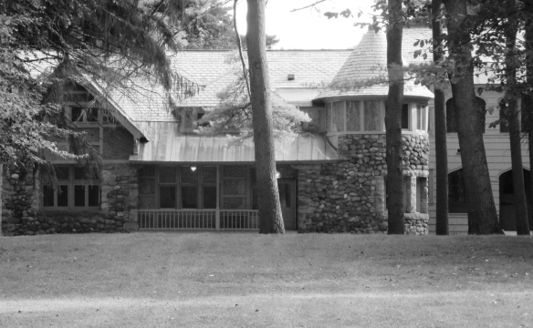 The grounds keeper's house
