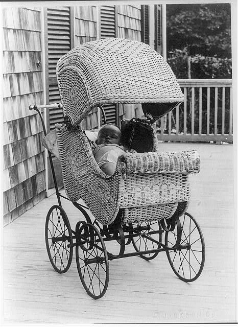Outdoor Nap for Baby.