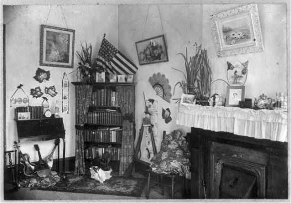 Corner of a teacher's room