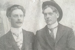 My great grandfather and his twin sparked my interest in twins.