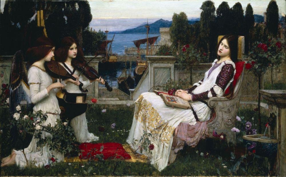 Saint Cecilia, John William Waterhouse 1895