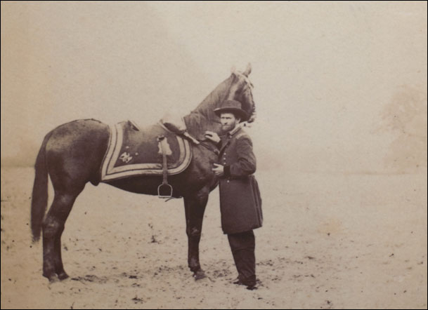 """In horsemanship, however, he was noted as the most proficient in the Academy. In fact, rider and horse held together like the fabled centaur..."" James Longstreet"