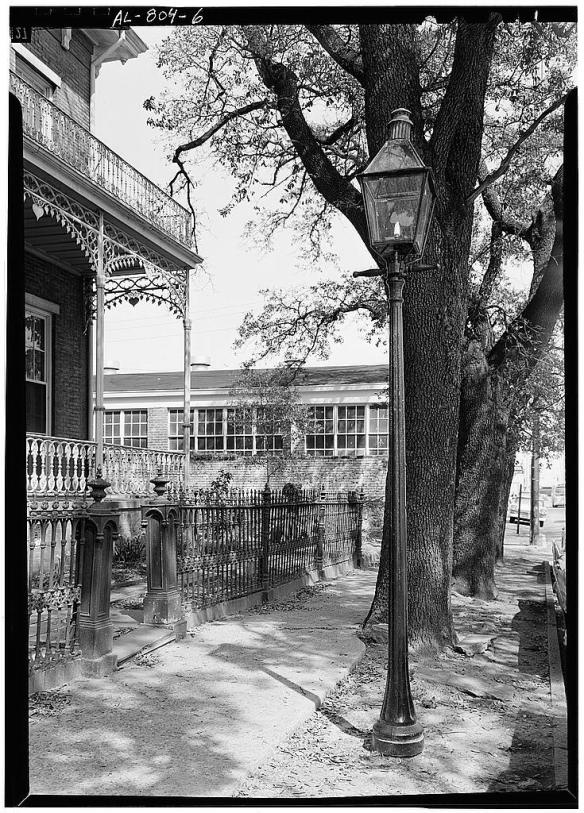 Gas Lamp Courtesy Library of Congress