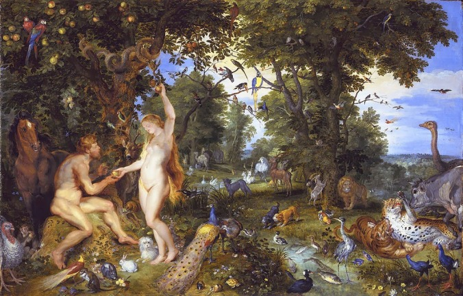 Jan Breughel the Elder and Peter Paul Rubens - The garden of Eden