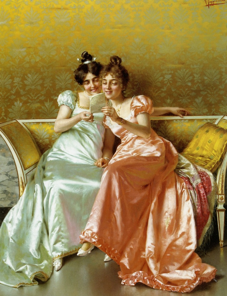 """The Letter"" Vittorio Reggianini"