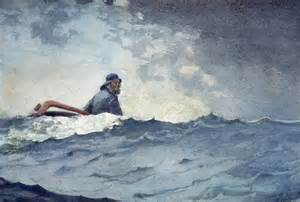 A Swell of the Ocean by Winslow Homer