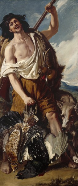 The Woodranger by Daniel Maclise