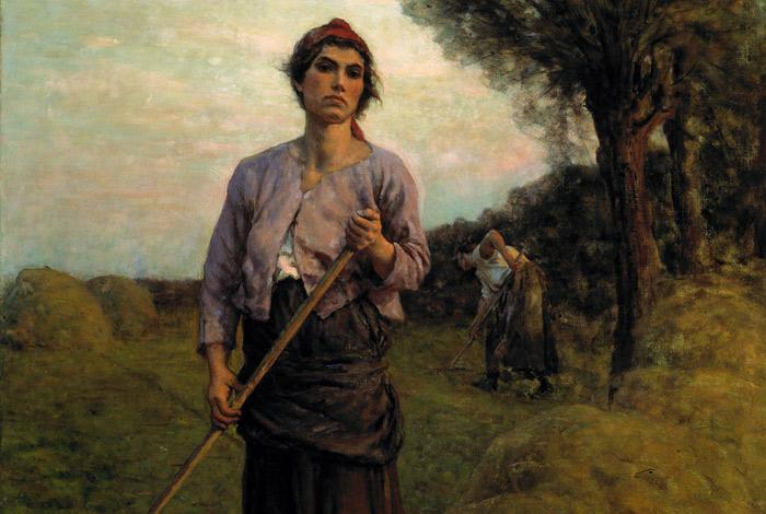 Jules Adolphe Breton, The Gleaner, Denver Art Museum