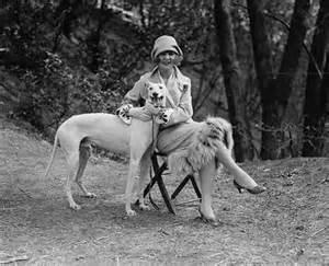 She even had a beautiful dog!