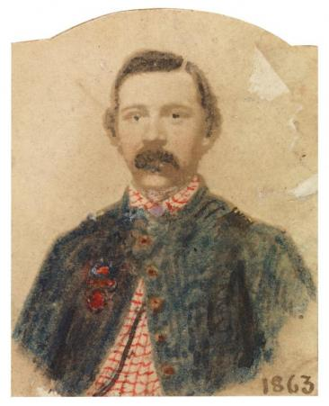 Private Robert Knox Sneden Courtesy Virginia Historical Society