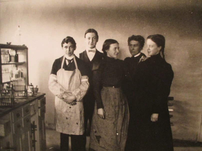 Chemistry Class, courtesy Chapman Historical Museum