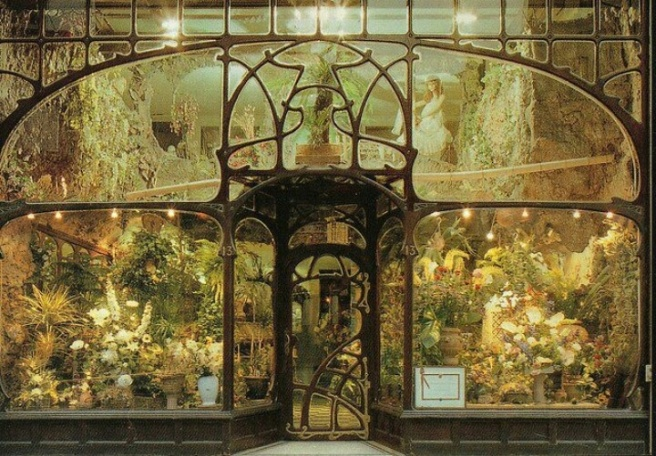 19th Century Flower Shop in Brussels, courtesy Pinterest