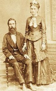 Joseph Whithaker and wife were among the first Confederates to emigrate to Brazil where slavery was still legal.