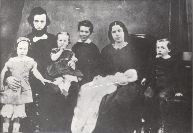 Catherine Booth with her growing family