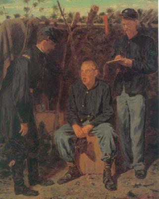 The Shirker, Winslow Homer