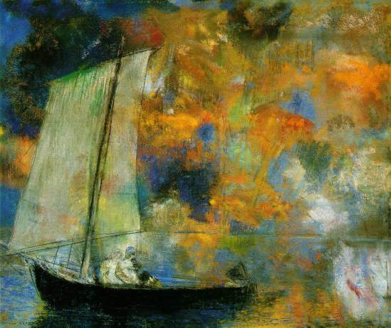 Odilon Redon's Flower-Clouds