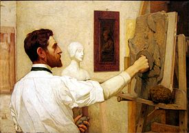 Augustus Saint-Gaudens by Kenyon Cox