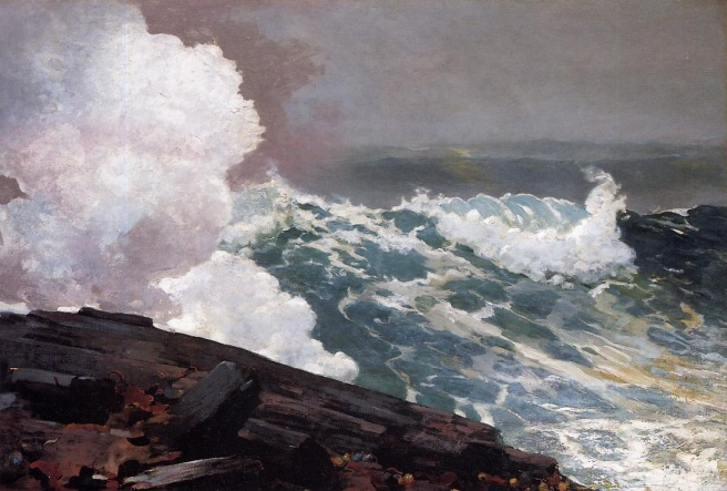 Winslow Homer Nor'easter