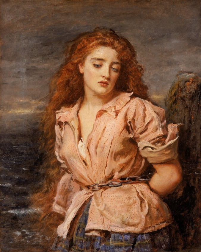 A victim of political correctness . . . The Martyr of Solway by John Everett Millais