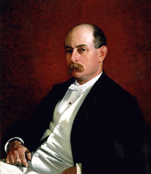 Charles Francis Adams Jr. by Frances David Millet