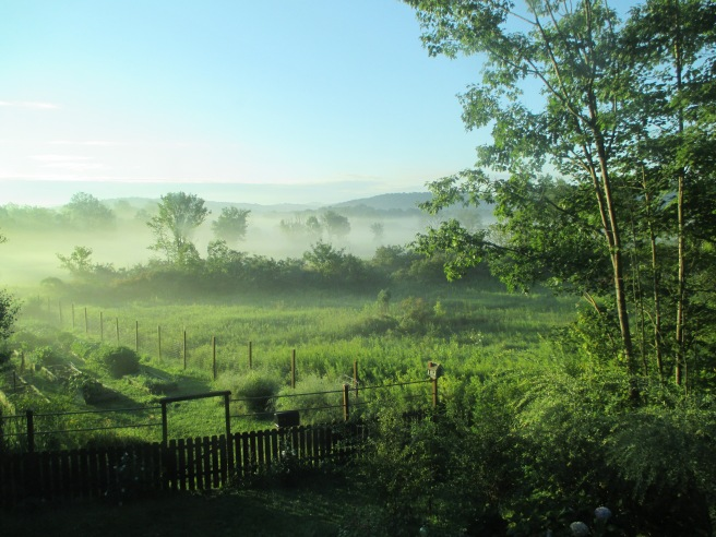 Oh, what a beautiful morning . . .