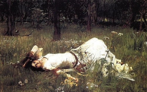 Ophelia, JW Waterhouse