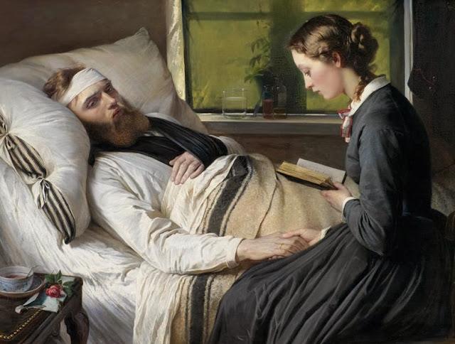 Wounded Danish Soldier 1865 Elisabeth Jerichau-Baumann - 1865