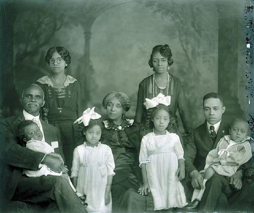 Black Family courtesy Pinterest