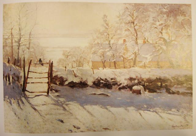 Magpie, Claude Monet