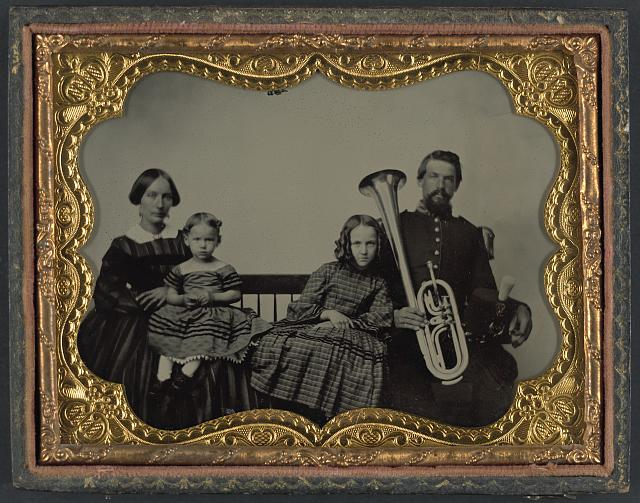 union soldier family sax