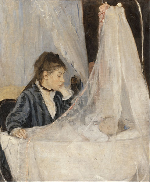 492px-Berthe_Morisot_-_The_Cradle_-_Google_Art_Project