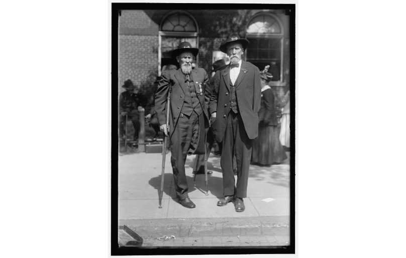 """""""They aren't fit to conduct business, and except for a little sentiment the old soldiers don't care whether the building is saved or not,"""" Fraser, then 87, told the Free Press in May 1934 of his fellow Civil War vets. Photocourtesy Library of Congress"""