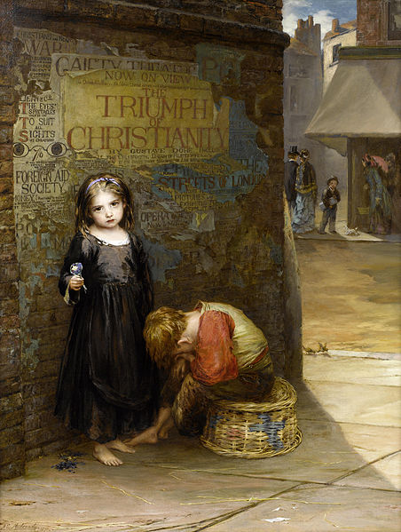 Uncared for by Augustus Edwin Mulready