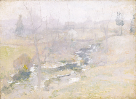end of winter twachtman