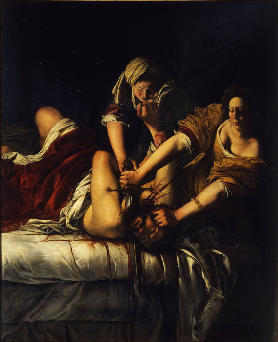 Judith Slaying Holofernes (1614–20)  Galleria degli Uffizi, Florence