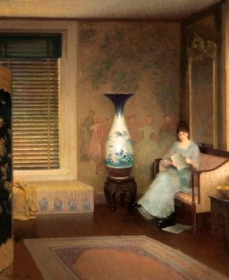 William Worcester Churchill (1858 – 1926) The Chinese Vase