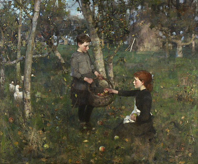 in-the-orchard-james-guthrie