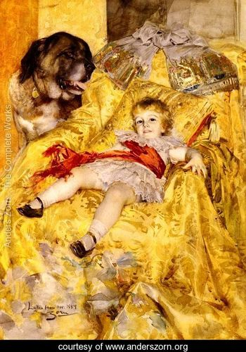 a-portrait-of-christian-de-falbe-with-a-saint-bernard-at-luton-hoo