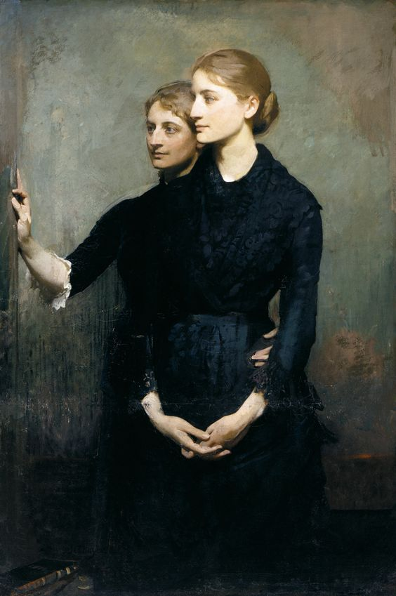 The Sisters by Abbott Handerson Thayer