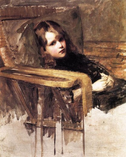 john-william-waterhouse-the-easy-chair