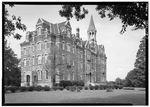 west_side_and_south_front_-_fisk_university_jubilee_hall_seventeenth_avenue_north_nashville_davidson_county_tn_habs_tenn19-nash7a-3-tif