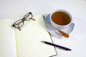 writing tea
