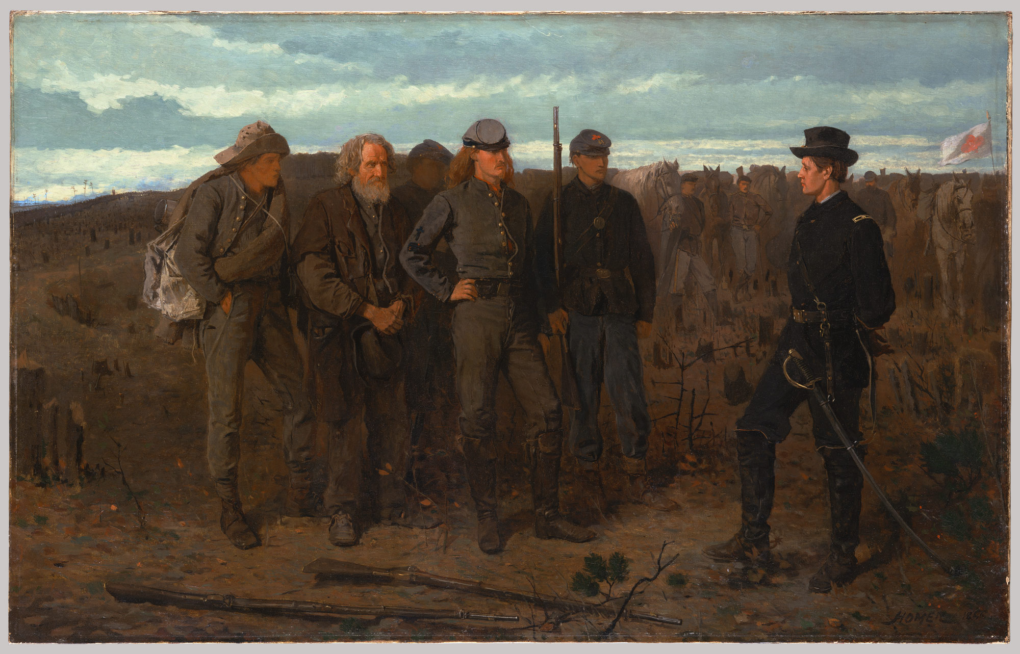 prisoners from the front winslow homer